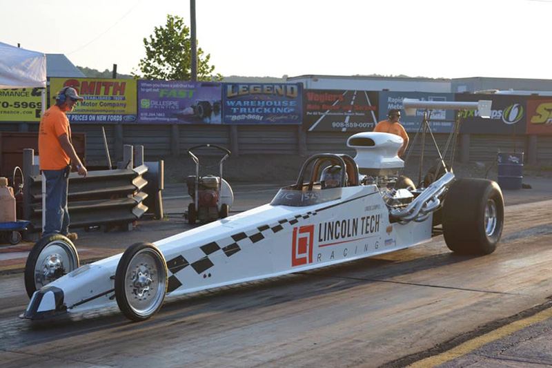 dragster built with partnership