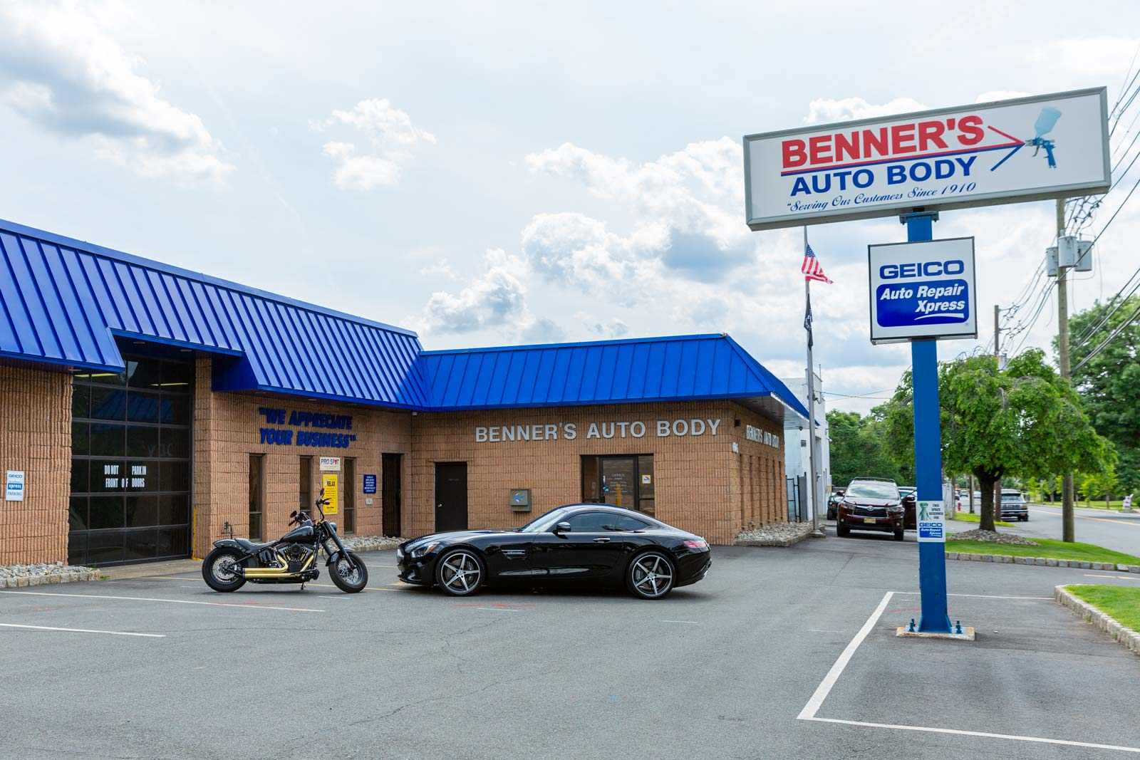 Benner S Auto Body Cranford Auto Body Tesla Experts